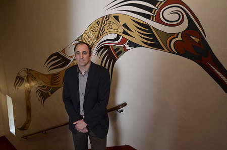 Chief Executive Officer Micah Parzen of the San Diego Museum of Man.