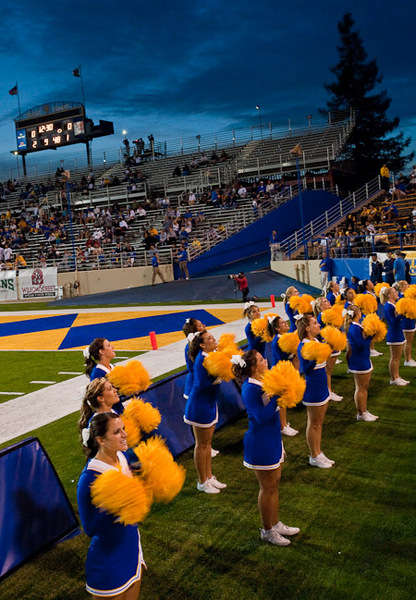 Football games are a big part of SJSU campus life.